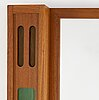 A teak mirror from eriksmålaglas, 1960's.