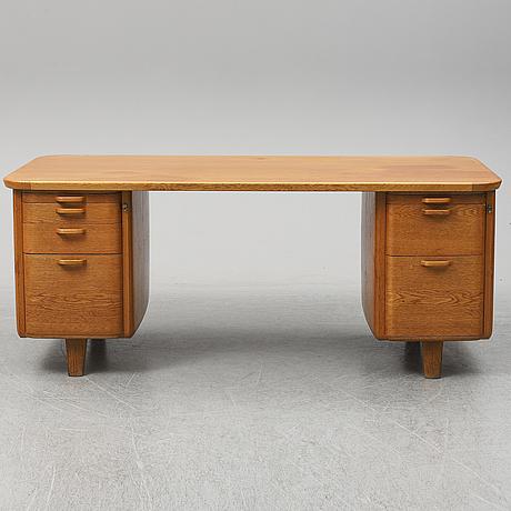 A 1950/60's oak writing desk.
