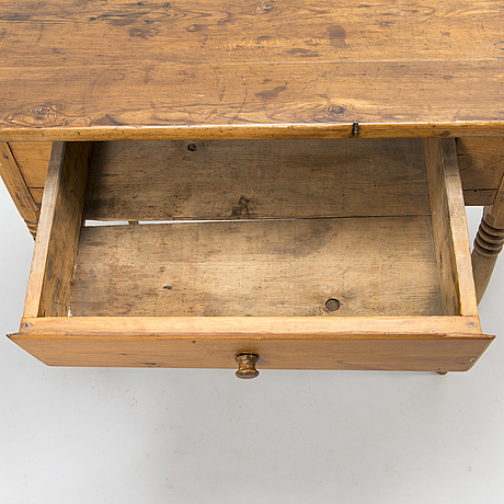 A 19th-century table.