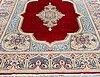 A carpet, old kerman, ca 406 x 292 cm.