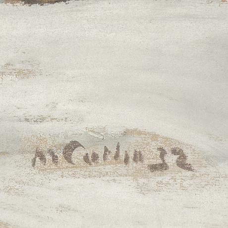 Marcus collin, pastell, signerad och daterad -32.