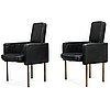 Pekka perjo, a pair of 1969's armchairs for haimi.