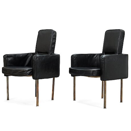 Pekka perjo, a pair of 1969's armchairs for haimi.