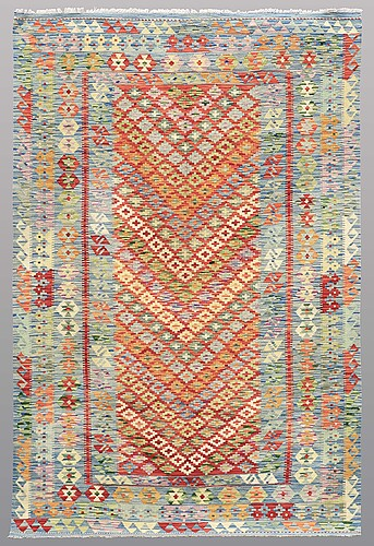 A rug, kilim, ca 244 x 158 cm.