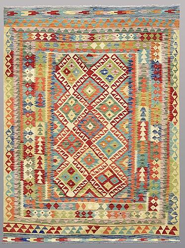 Matto, kilim, ca 243 x 176 cm.