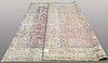 A carpet, oriental, ca 381 x 293 cm.