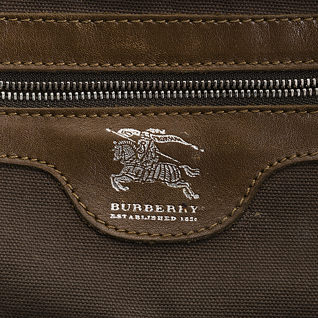 Burberry, bag.