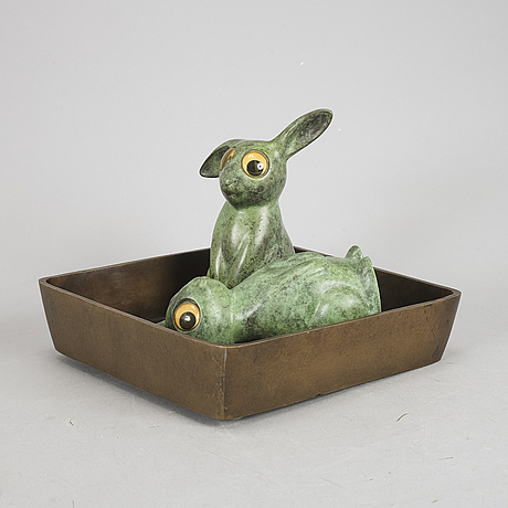 Marianne lindberg de geer, sculpture, signed and numbered 4/20, dated 2007.