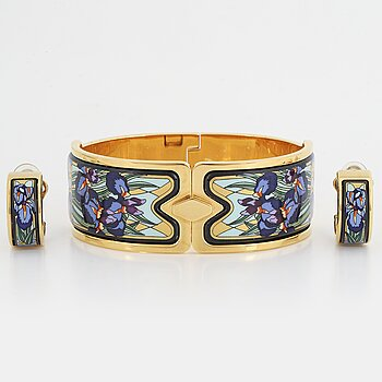 Frey Wille bangle and earrings.
