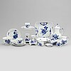 A 'blå blomst' part coffee and tea service, royal copenhagen, denmark (74 pieces).