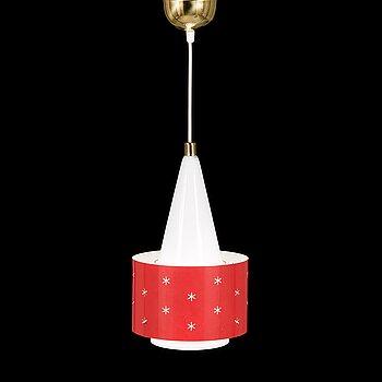 PAAVO TYNELL, a mid-20th century 'K2-10' pendant light for Idman.