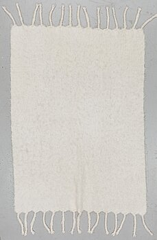 LENA REWELL, a mohair blanket, Lena Rewell Textile Studio, Finland 21st century.