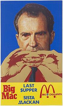 KJARTAN SLETTEMARK, poster, offset in colours, 1971.