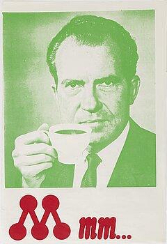 KJARTAN SLETTEMARK, KJARTAN SLETTEMARK, poster, offset in colours, 1970s.