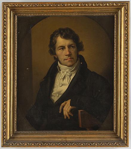 Johann carl heinrich kretschmar, attributed to, oil on canvas.