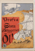 "Affischer, 2 st, ""stora bryggeriet"" bla efter Östberg, stockholm 1910-20-tal."