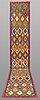 A runner, kilim, ca 509 x 84 cm.