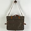 Mulberry, a scotch grain garment bag, 1980's.