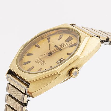 Omega, constellation, chronometer, armbandsur, 34 mm,