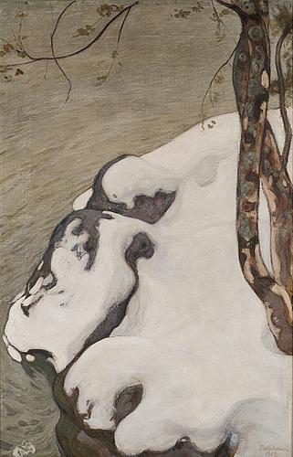 Pekka halonen, the first snow.