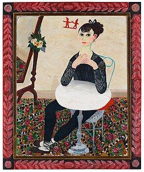 """404. Olle Olsson-Hagalund, """"Balettflickans jul (The ballerina's Christmas)""""."""