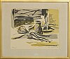 Ola billgren, a lithograph in color, signed and numbered 290/235.