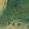 Per-erik hagdahl, oil on canvas, signed.