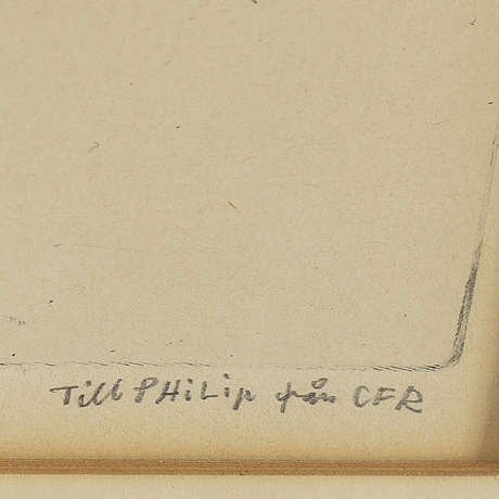 Carl fredrik reuterswÄrd, etching, signed.