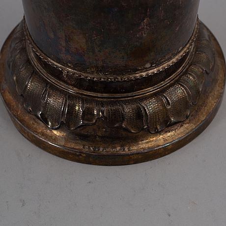 Gab, a silver vase, stockholm, 1939.