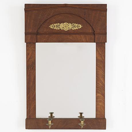 Spegellampett, empire, 1800-talets första hälft.