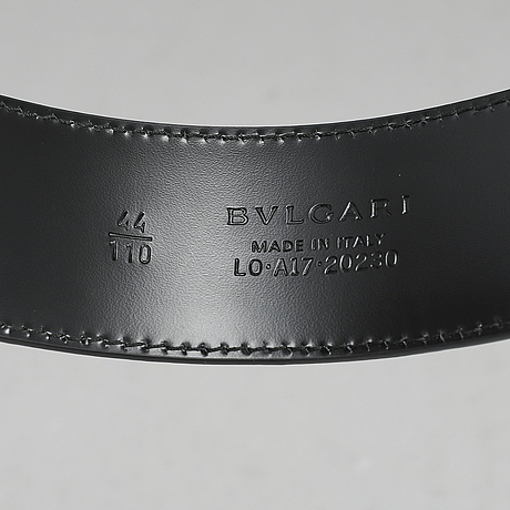 Bulgari, skärp, storlek 110.