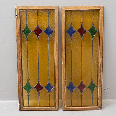A pair of windows from around 1900.