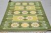 Ingegerd silow, a carpet, flat weave, ca 204 x 135,5-137 cm, signed is.