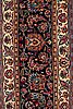 A carpet, a semi-antique mashad, signed saber, ca 512,5 x 343,5-345 cm (including 1,5-3 cm flat weave at the sides and.