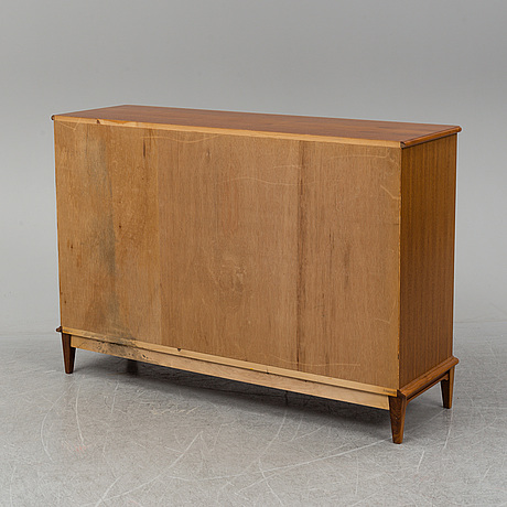 A second half of the 20th century 'vindö' walnut sideboard by svante skogh.