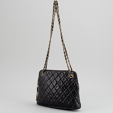 Chanel, a quilted bag, 1989-1991.