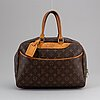 Louis vuitton, a monogram canvas 'deauville'.
