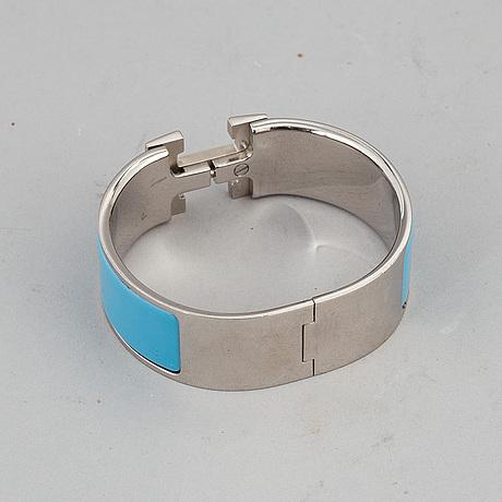 """HermÈs, armband, """"clic h""""."""