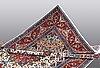 A rug, tabriz  part silk, ca 317 x 200 cm.