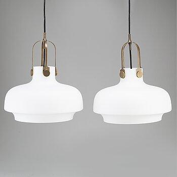 "SPACE COPENHAGEN, ""Copenhagen SC7"", a pair of ceiling lamps, & Tradition, Denmark 21st century."