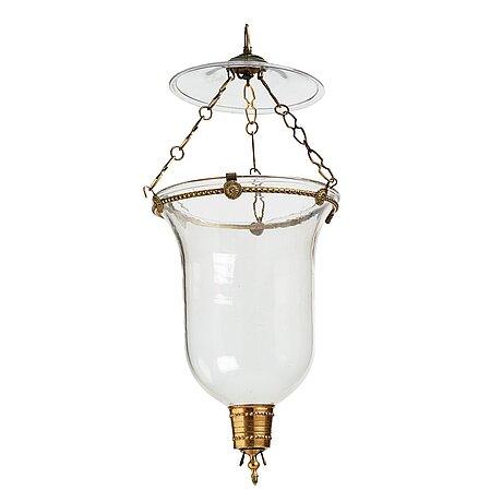 A 19th century one-light lantern.