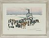 Roland svensson, lithograph in colours, signed 345/360.