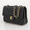 Chanel, small double flap bag.