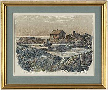 ROLAND SVENSSON, colour lithograph, signed and no. 159/250.