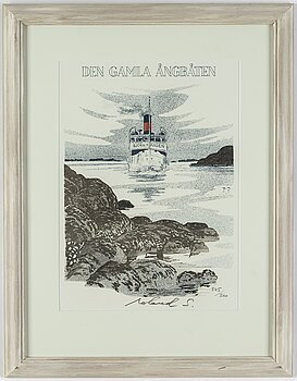 ROLAND SVENSSON, lithograph. Signed and numbered 345/360.
