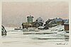 Roland svensson, lithograph in colours, signed 294/350.
