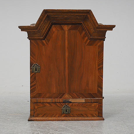 A first half of the 18th century baroque cabinet.