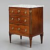 A late gustavian commode by a. scherling, master 1771.