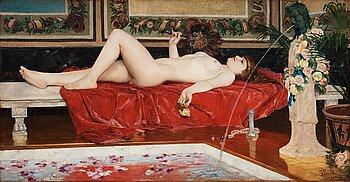 "441. Georg Pauli, ""Romerskt bad""/""Odalisk"" (Roman Bath/Odalisque)."