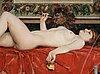 "Georg pauli, ""romerskt bad""/""odalisk"" (roman bath/odalisque)."